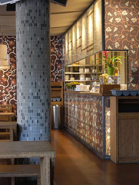Tapeten-Muster BOK Asia Imbiss Altona #tapete #wallpaper