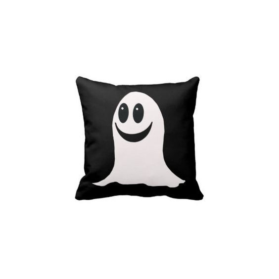 Decorate with Halloween Throw Pillows : Zazzle ❤ liked on Polyvore featuring home, home decor, holiday decorations, halloween decor, pillow and halloween home decor