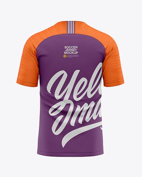 Download Men S Soccer Raglan Jersey Mockup Back View Football Jersey T Shirt In Apparel Mockups On Yellow Images Object Mockups Clothing Mockup Design Mockup Free Shirt Mockup