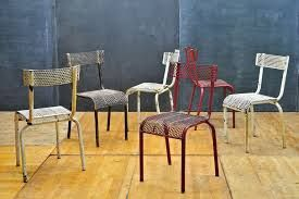 metal perforated chairs - Google Search