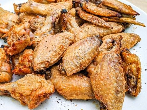 Baking Powder Chicken Wings The Crispiest Wings You Ll Ever Make Foods Bak Baking Powder Chicken Wings Chicken Wing Recipes Baked Crispy Baked Chicken Wings