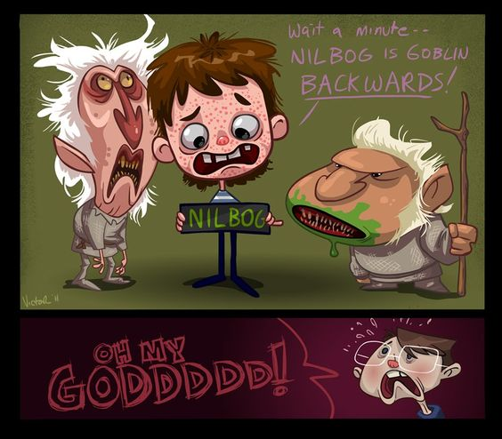 Troll 2 art by Jeff Victor  This movie has to be seen to be believed!
