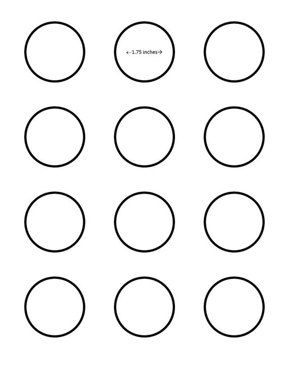 Macaron inch circle template google search i saved for Printable french macaron template