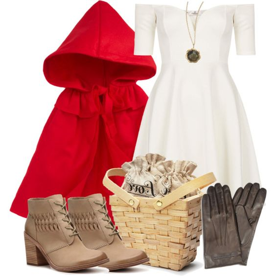 Lydia Inspired Halloween Costume (Little Red Riding Hood) by veterization on…: