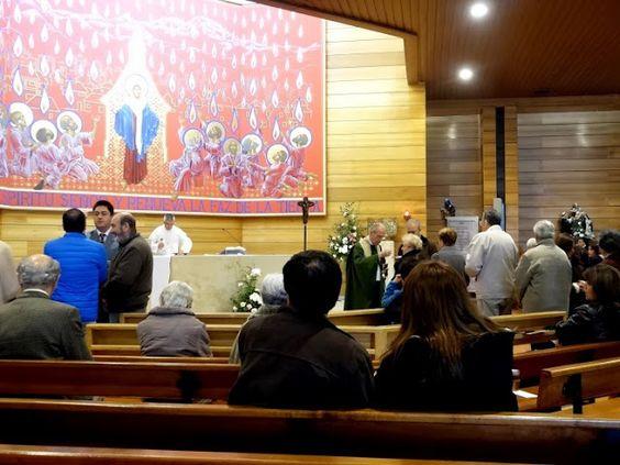 Capturador de Imágenes: Santuario Cenáculo de Bellavista. 22 del tiempo ordinario. Celebró Padre José Manuel Lopez