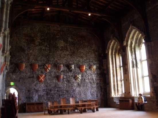 Os castelos normalmente eram totalmente desconfortáveis. Quando você pensa em um castelo, provavelmente pensa em comodidades luxuosas e elegantes. Só que ninguém se importa com o tamanho do celeiro, se ele está chapiscado de lama e cheira a estrume de cavalo