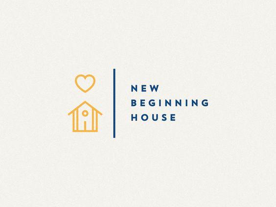 New Beginning House Logo Design
