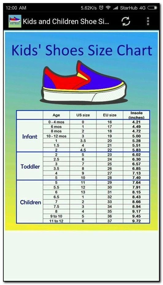 baby shoe sizes canada
