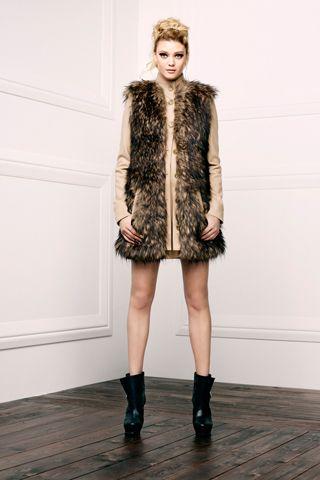 Marianna Long Faux Fur.  Michelle Bootie.