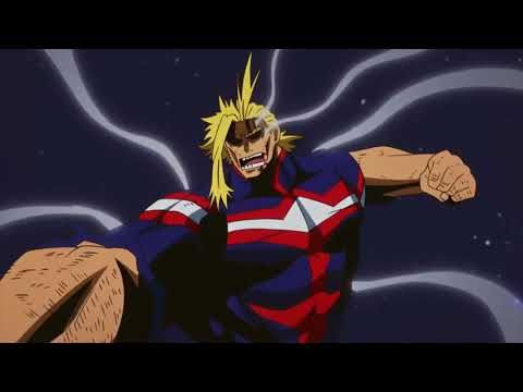 Amv All Might Fighting And Motivational Amv Anime
