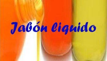 Hacer jabón líquido de glicerina