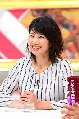 解説中の潮田玲子さん