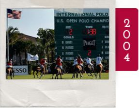 The International Polo Club at Palm Beach opens, celebrating the 100th anniversary of the U.S open polo championship.
