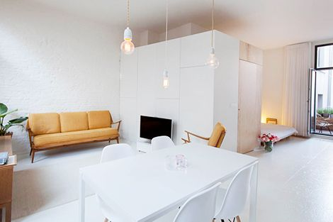 Interieurs woonidee n and idee n on pinterest - Layout klein appartement ...