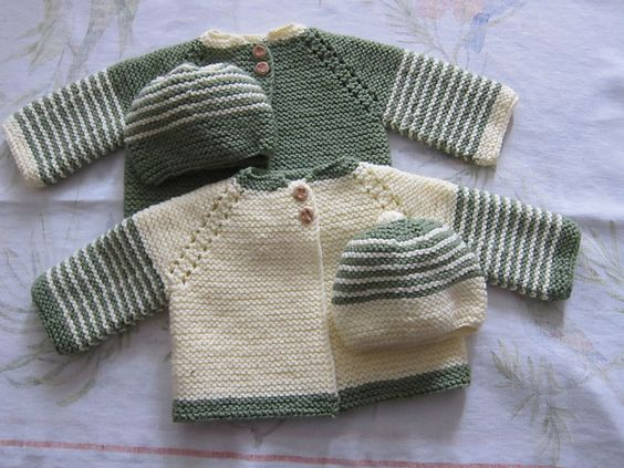Ravelry Free Knitting Patterns Babies : Ravelry: Top Down Garter Stitch Baby Jacket pattern by Nancy Elizabeth Munroe...