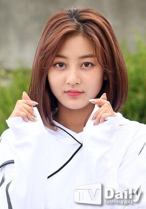 Short Hair Jihyo Kpop Short Hair Hair Styles Short Hair Styles