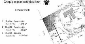 Vente terrain à bâtir proche Evreux à Prey 27220