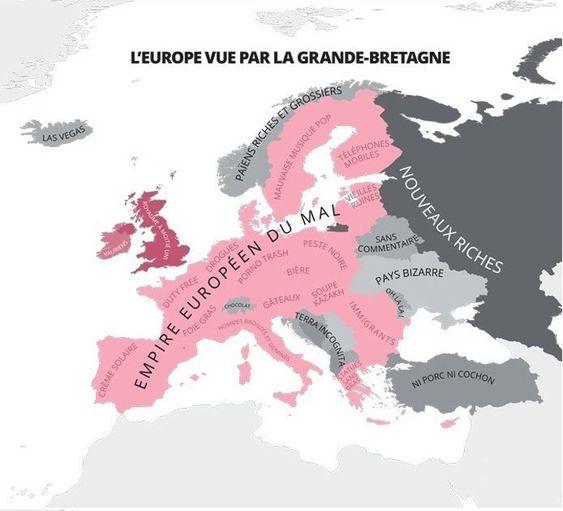 l'europe vue par la GRANDE-BRETAGNE