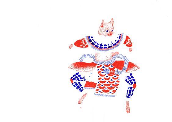 踊るシリーズ  by ootsu moeno