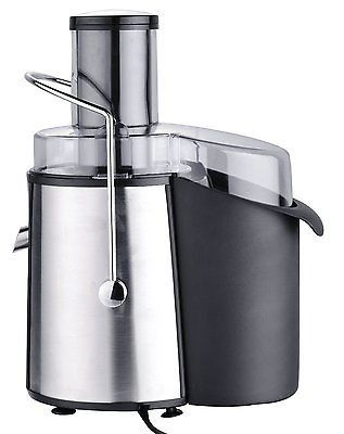 Chefs Star® Juicer Wide Mouth Fruit & Vegetable Juice Extractor Stainless Steel