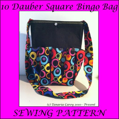 Free bingo bag sewing pattern new square bingo bag with snap closure