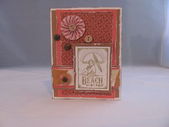 Beach Card Scrapbooksmileswithkimberly.com
