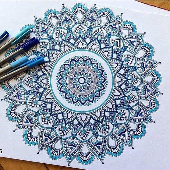 604 Likes 7 Comments Best Mandalas On Instagram Mandala By Mmandalas Like It Mandala Design Art Mandala Artwork Mandala