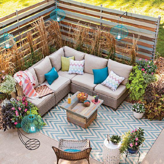 Privacy Ideas For Backyard Decks: Patio Ideas For A Tight Budget. Https://t.co/xFryLZjAMQ