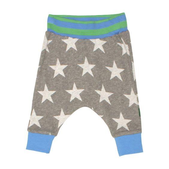 Organic star pants by Fred's World by Green Cotton / CozyKidz.net