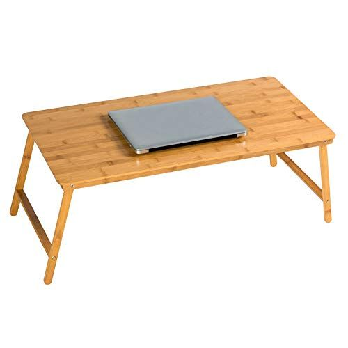 Bjab Wooden Small Folding Tables Computer Notebook Lazy Desk