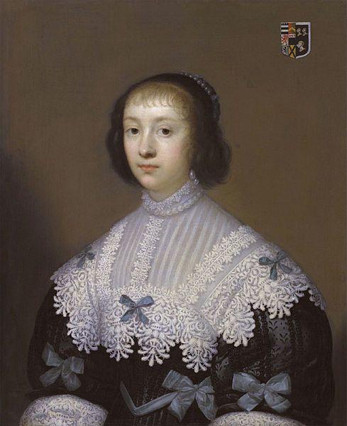 Margaret Hungerford (1596-1648) by Cornelis Jonson van Ceulen: