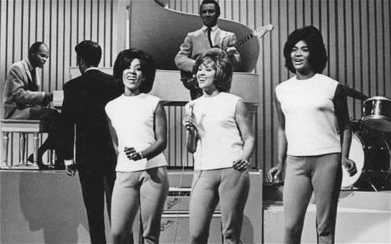 groups of women back-up singers | Darlene Love, centre, performing with the…