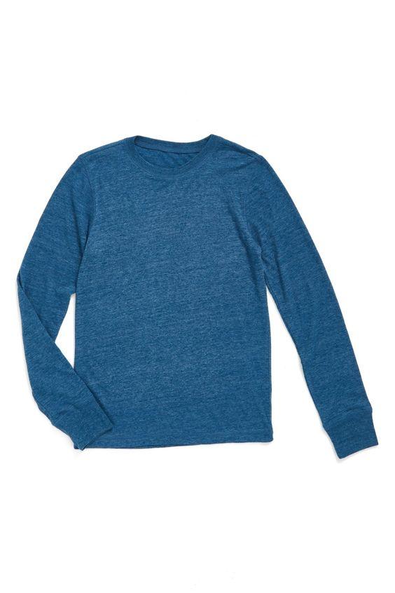 'Mason' Long Sleeve T-Shirt (Toddler Boys, Little Boys & Big Boys)