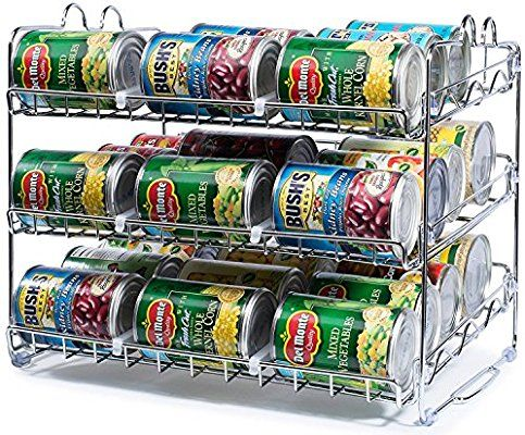 Amazon Com Stackable Can Rack Organizer Storage For 36 Cans Great For The Pantry Shelf Ki Kitchen Organization Pantry Pantry Shelf Kitchen Pantry Cabinets