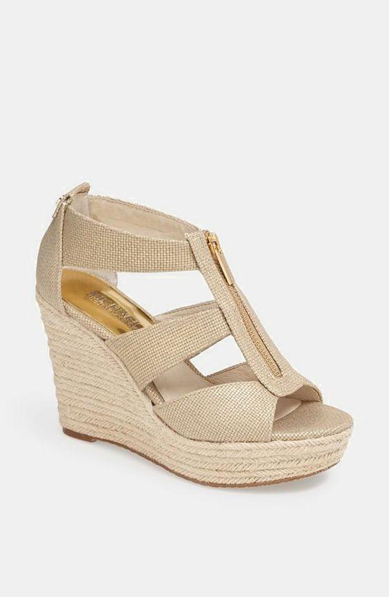 Nordstrom  MICHAEL Michael Kors 'Damita' Wedge Sandal