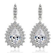 Fashion Zircon Peacock Earrings – USD $ 13.08