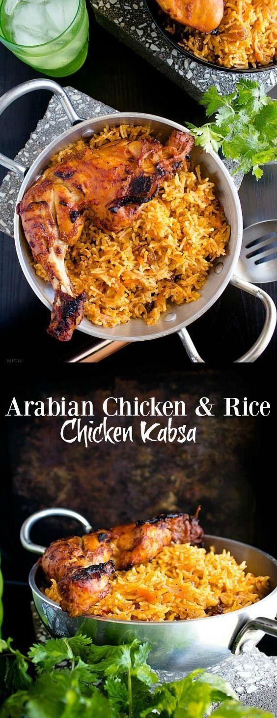 Chicken Kabsa Saudi Arabia