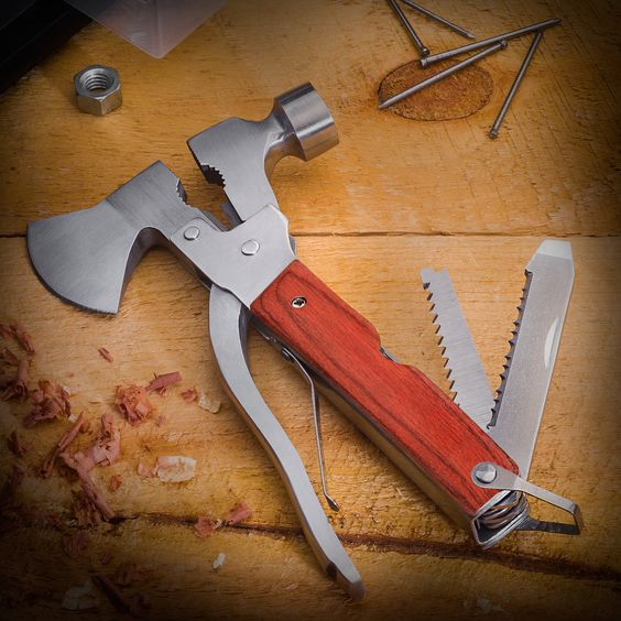 Mighty Axe Multi-Tool Makes Quick Work of Small Jobs Around the House or On the Trail!