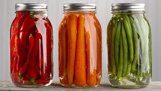 At this point in your summer you likely have vegetables coming out your ears. If you're trying to figure out how to keep them all from going bad, think refrigerator pickles! They're ridiculously easy to make and will last a few months in your fridge, without the hassle of dragging out all your canning equipment.