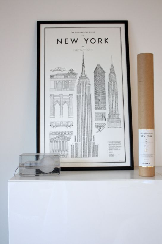 homevialaura | David Ehrenstråhle, Monumental Guide to New York | Harri Koskinen, Block