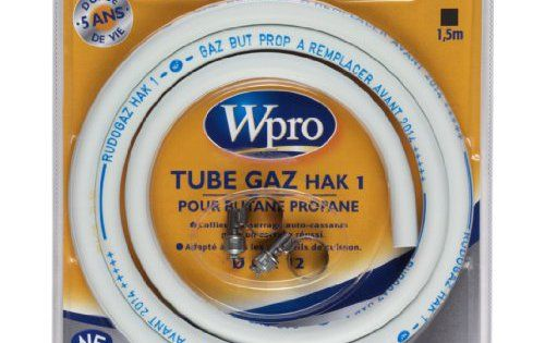 Wpro TBC158 Butane Propane Longueur 1,5 m Type de gaz  Butane - lampe exterieure allumage automatique