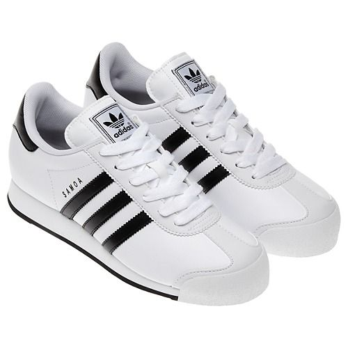 all white adidas samoa shoes