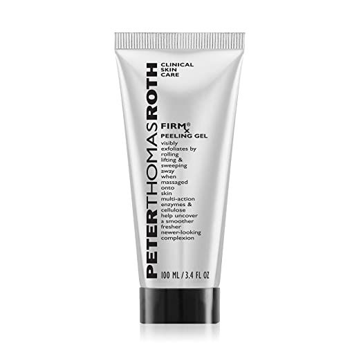 Amazon Com Firmx Peeling Gel Exfoliant For Dry And Flaky Skin Enzymes And Cellulose Help Remove Impurities And Unclog In 2020 Skin Care Clinic Peter Thomas Roth Gel