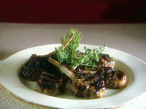 Easter Dinner Lamb Chops : Food Network - FoodNetwork.com