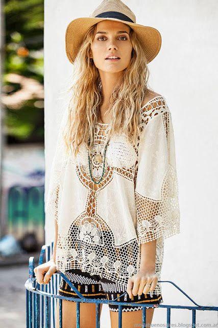 Moda primavera verano 2016 India Style. Moda verano 2016 túnicas.