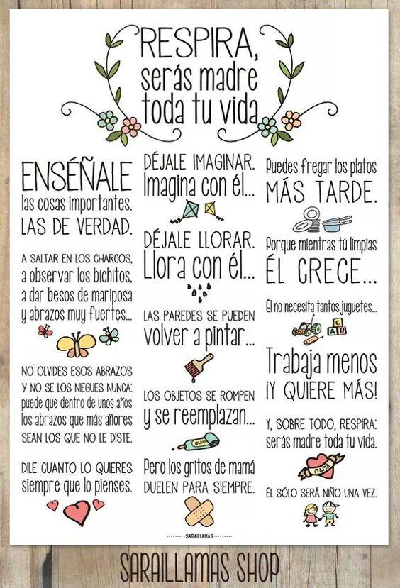 B1 - Imperativos: Consejos para madres primerizas. [De El Blog de Sarai Llamas + Háblame bajito.]