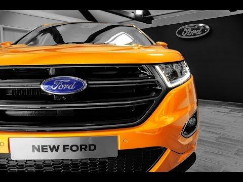 The All New  Ford Edge Sport Youtube