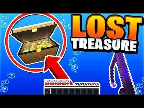 Fishing For Lost Treasure Insane Update Minecraft Skyblock Minecraft Server Video 4