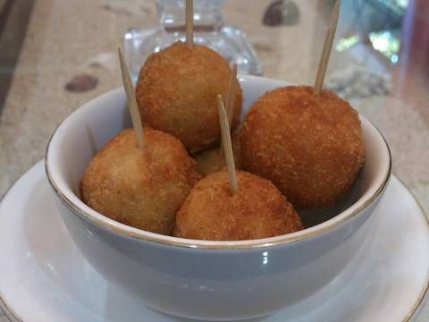 Resep Bitterballen Oleh Zhanas Syechboo Resep Masakan Resep Adonan