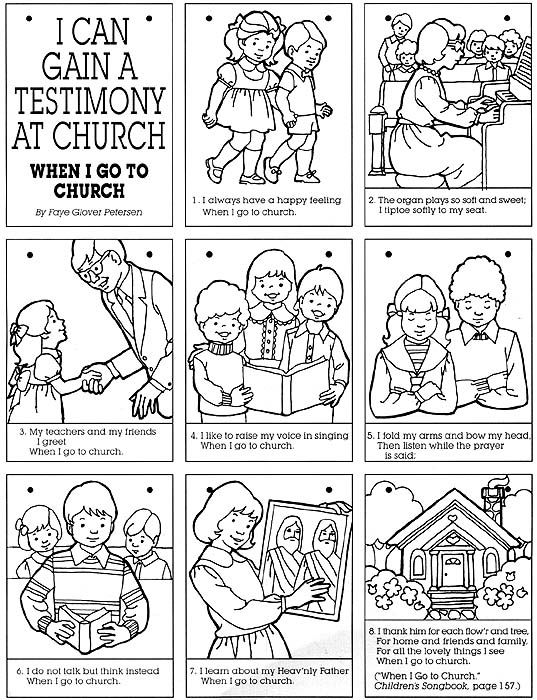 Family Going To Church Coloring PageGoingPrintable Coloring